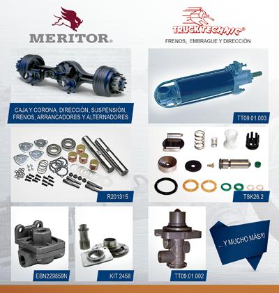 Meritor y Trucktechnic - Promoción de repuestos